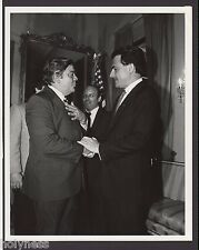 VINTAGE PRESS PHOTO / GOV. RAFAEL HERNANDEZ COLON / PUERTO RICO / 1980's / #3