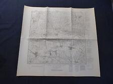 Landkarte Meßtischblatt 4151 Werben im Spreewald, Dissen, Fehrow, von 1945