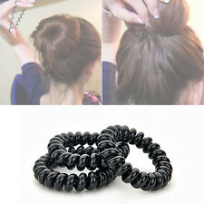 3PCS Hair Ties Elastic Rubber Band Rope Ponytail Holder for Girl Lady
