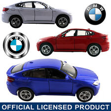 1:38 BMW X6 M SERIES DieCast Model Car Kid Child Pull Back Friction Powered Toy