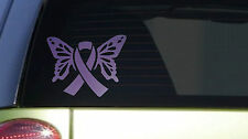 Lupus Butterfly *I399* 6x8 inch Sticker decal purple awareness cure