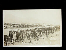 c.1916 RPPC Cavalry Camp Stewart on the Border TX Mexican Incursion by Horne