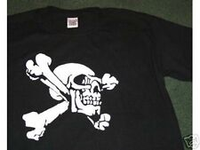 SKULL AND BONES  PIRATE T-SHIRT NEW all sizes DESIGN 2
