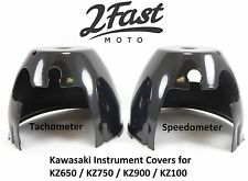 Speedometer Tachometer Instrument Lower Base Cover Black Kawasaki KZ 750 900 z1