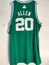 Adidas Swingman NBA Jersey Boston Celtics Ray Allen Green sz 2X