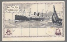 [53421] OLD CASSIERS POSTCARD RED STAR LINE BB-4