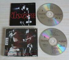 2 CD ALBUM THE DOORS IN CONCERT - THE DOORS  31 TITRES 1991 MADE IN GERMANY