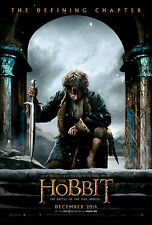 The Hobbit The Battle Of The Five Armies DOUBLE SIDED ORIGINAL Movie Poster
