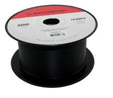 Scosche PW18BLK500 500ft High Quality Automotive power cable 18 gauge BLACK