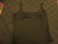 """Black Strappy Top  in Size 10 Petite - Chest 36"""""""