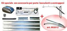 KIT APRIGARAGE DUCATI per basculante incluso accessorio per porte debordanti