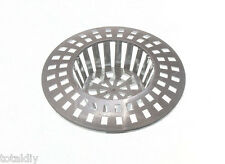 Parcel Of 1 x Sink / Basin Strainer Hair Trap Snare / Catch (Stops Clogging)