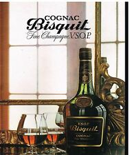 Publicité Advertising 1979 Cognac Fine champagne Bisquit