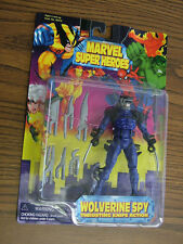 Marvel Super Heroes: Wolverine Spy w/ thrusting knife action -  1997
