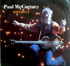 "7"" 1989 RARE IN VG+++! PAUL MCCARTNEY : Birthday (LIVE)"
