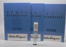 Acqua Essenziale Pour Homme Salvatore Ferragamo EDT.05oz Spray Samples Lot of 3
