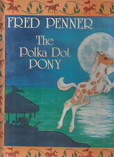 fred penner the polka dot pony lp canada new