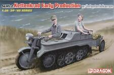 NEW Dragon Models 1/35 Sd.Kfz.2 Kettenkrad w/Infanteriekarr 6341
