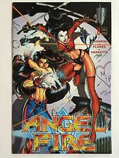 ANGEL FIRE #2 (1997, Crusade Comics) SUPER-SEXY HUMAN TACTICAL WEAPON -1ST PRINT