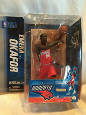 *McFARLANE EMEKA OKAFOR #50 CHARLOTTE BOBCATS NBA SERIES 9 MINT ON CARD