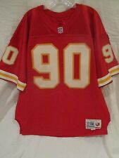 Neil Smith Kansas City Chiefs Game Used Home Jersey (1995) - Mears LOA
