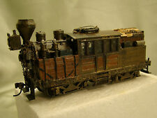 Climax Logging Steam Engine - completely serviced - custom weathered -HO - lot A