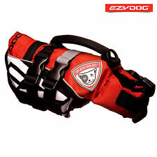 EZYDOG DOG FLOTATION DEVICE - Life Jackets For Dogs - Red Micro X-Small FLOAT