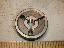 THREAD GAGE 5/16-24 UNF-2A NO GO P.D. .2806 OUTSIDE THREAD RING GAUGE S.G. CO