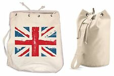 UNION JACK DUFFLE BAG College Rucksack Gym Beach British Flag Football Rugby