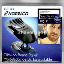 NEW PHILIPS NORELCO RQ111 Click-On Beard STYLER for SENSOTOUCH/ARCITEC SHAVERS!