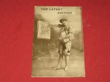 "Vintage ""The Latest Edition"" Postcard NOS EXC Series 79"