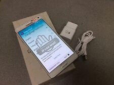 Samsung Galaxy Note 4 SM-N910V 32GB  White Unlocked Verizon Fair Cosmetic