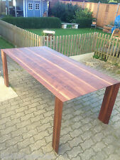 Designer Esstisch Nussbaum Massiv Holz NEU Tisch Beistelltisch auch auf Maß !!!