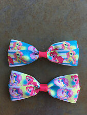 My Little Pony Hair Bows with Alligator Clips