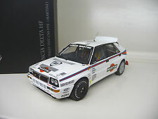 1:18 Kyosho Lancia Delta HF evo 2 test car Martini nuevo New