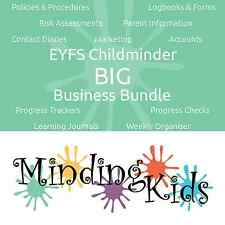 EYFS Childminder BIG Business Bundle, Policies, Logbooks, Learning Journals +++