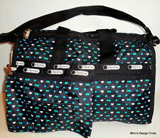 LeSportsac Medium WEEKENDER TRAVEL BAG *New* Stargazer Black 7184 D869 NWT