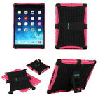 For iPad mini 2 Retina Heavy Duty Shockproof Stand 2-IN-1 Combo Pink Case Cover