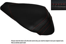 RED STITCH LEATHER CUSTOM FITS APRILIA RSV4 R 1000 09-15 REAR SEAT COVER
