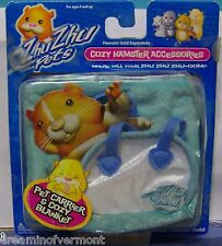 Zhu Zhu Pets Blue Bed In Box Slightly Dented on Right Corner