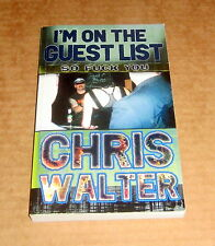 Signed I'M ON THE GUEST LIST Diary Punk Rock LIQUOR DRUGS VANCOUVER BC MARIJUANA