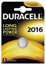 3 x Duracell 2016 3V Lithium Coin Cell Batteries CR2016/DL2016 Battery - New