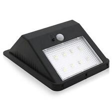 Solar Powered 160LM 8 LED Wall Light Auto Motion Sensor Outdoor IP65 Waterproof