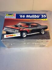 Revell 1966 Chevy Malibu SS, 1/24, NEVER OPENED, Hot Rod Series 1998