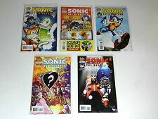 Sonic the Hedgehog Comic Book  Lot 170 - 172 - 173 - 174 - 175