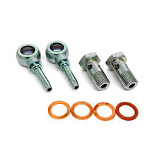 Garrett Turbo Water Coolant Pipe Banjo Fittings & Bolts - M18 T3 T4 T34