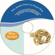 DVD How to make a Pearl Ring with wire, make a wire wrapped ring, wire jewelry