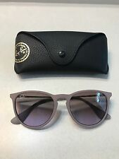 Ray Ban RB 4171 Erika Gray Frame Purple lens 100% Authentic