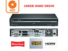 Sony RDR-HXD890 Multi Format DVD Recorder,160GB Hard Drive HDD & FREEVIEW, HDMI