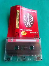 ►► rare Polish cassette mc JEAN-MICHEL JARRE The Concerts in China 2 Takt Poland